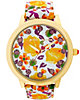 BETSEY LOVES MOMS YELLOW FLOWER WATCH MULTI