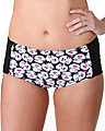 BETSEY MEETS FRIENDS RETRO HI WAIST BLACK PINK