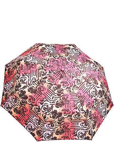 BETSEY PRINTED AUTO OPEN UMBRELLA TOO MULTI