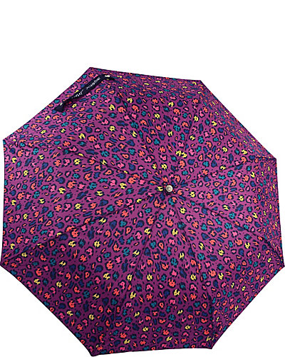 BETSEY PRINTED AUTO OPEN UMBRELLA PURPLE