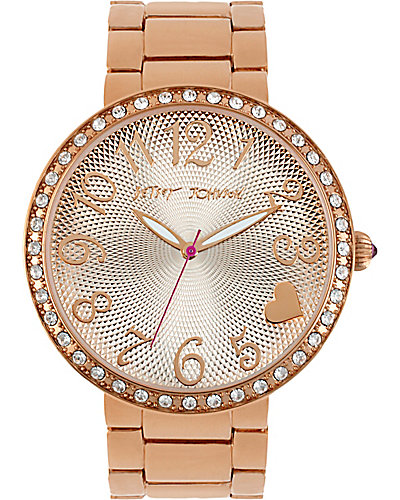 BETSEYS BIG NUMBER WATCH GOLD