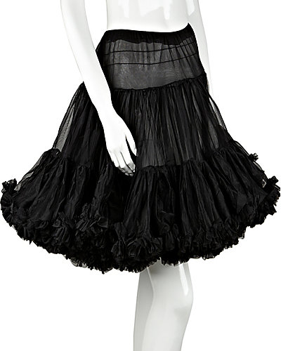 BETSEYS PERFECT PETTICOAT BLACK
