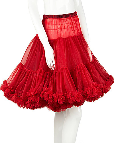 BETSEYS PERFECT PETTICOAT RED