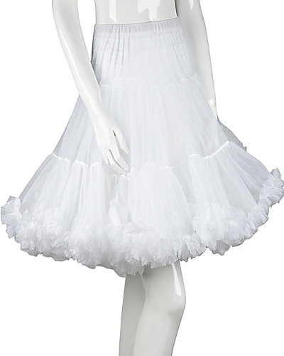 BETSEYS PERFECT PETTICOAT WHITE