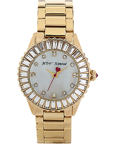 BJS BAGUETTE GOLD WATCH GOLD
