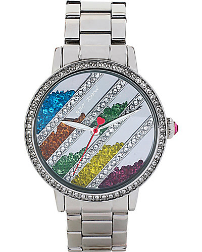 BJS FLOWING RAINBOW STONE WATCH MULTI