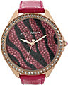 BJS PINK ZEBRA WATCH PINK