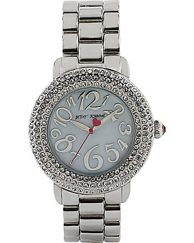 BLING SILVER WATCH SILVER
