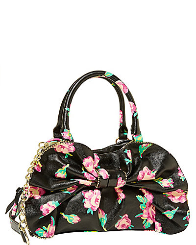 BOW DACIOUS MEDIUM SATCHEL BLACK MULTI