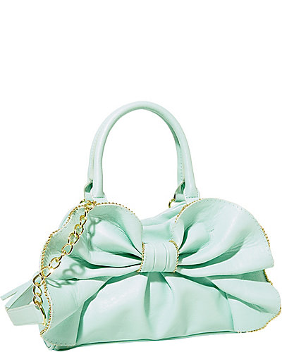 BOW DACIOUS MEDIUM SATCHEL MINT