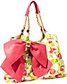 BOW LICIOUS TOTE PINK