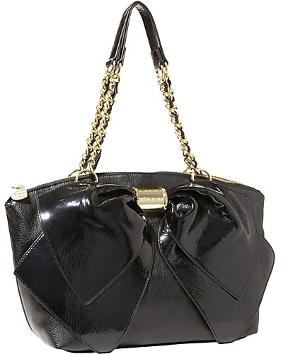BOW NANZA SATCHEL BLACK BLACK
