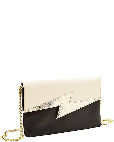 BRIGHT LIGHTS CLUTCH BLACK