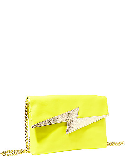 BRIGHT LIGHTS CLUTCH CITRON