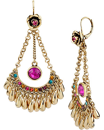 CARNIVAL CHANDLIER DROP EARRING MULTI