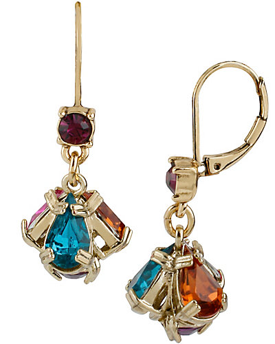CARNIVAL MULTI SMALL DROP EARRING MULTI