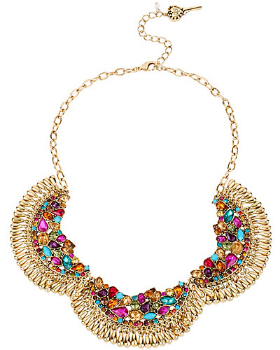 CARNIVAL SHAKY 3 PC NECKLACE MULTI