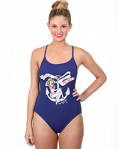 CATCH OF THE DAY ONE PIECE NAVY