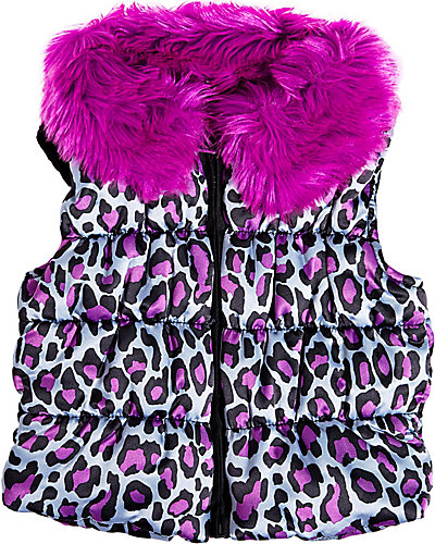 CATS CRADLE PUFFER VEST PURPLE