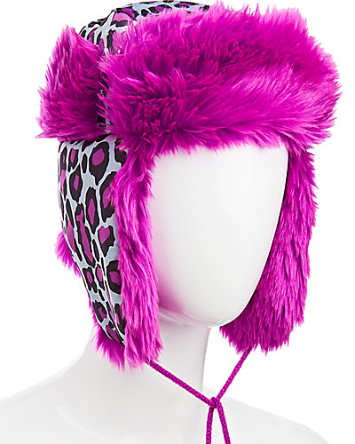 CATS CRADLE TRAPPER HAT PURPLE