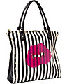 CLEAR TO ME TOTE BLACK-WHITE