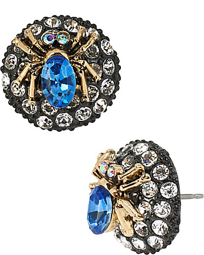 CREEPSHOW BLUE SPIDER STUD BLUE