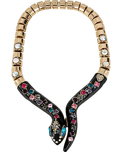 CREEPSHOW SNAKE COLLAR NECKLACE MULTI