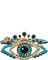 CRITTER STATEMENT EYE HINGED BANGLE MULTI