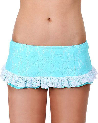 CROCHET CUTIE SKIRTINI TEAL