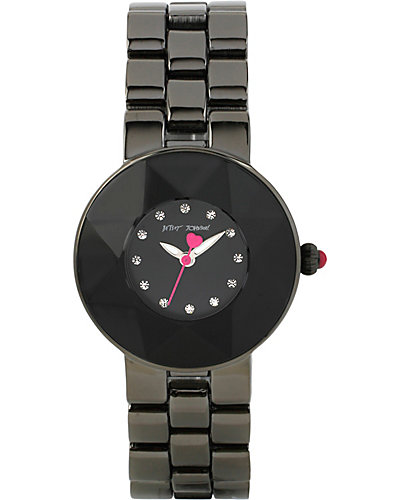 CRYSTAL BLACK WATCH BLACK