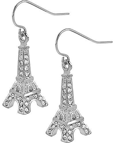 CRYSTAL EIFFEL TOWER EARRING CRYSTAL