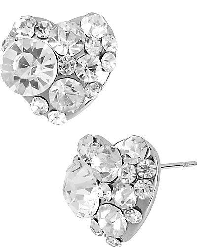 CRYSTAL SMALL HEART EARRING CRYSTAL