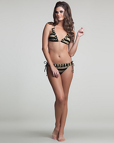 DATE NIGHT BIKINI TOP BLACK-TAN