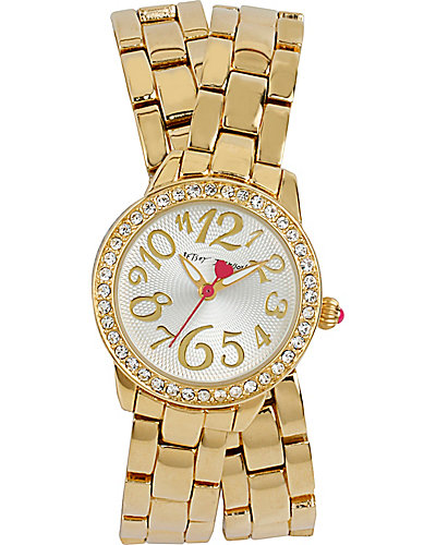 DOUBLE WRAP WATCH GOLD