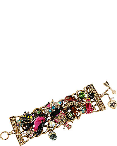ENCHANTED OWL WIDE TOGGLE BRACELET MULTI