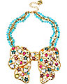 FAIRYLAND BIG BOW NECKLACE MULTI