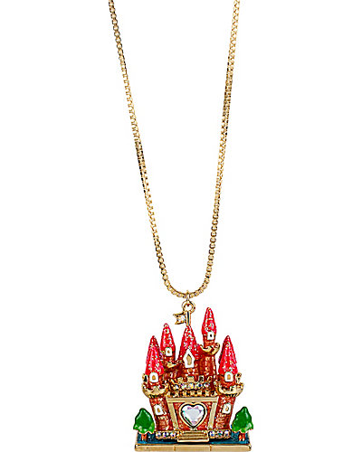 FAIRYLAND CASTLE PENDANT ORANGE