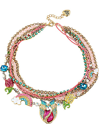FAIRYLAND CHARMY MULTI ROW NECKLACE MULTI
