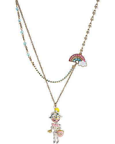 FAIRYLAND KNIGHT RAINBOW NECKLACE MULTI