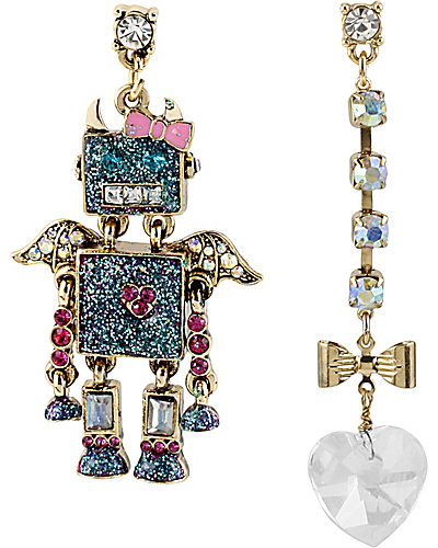 FAIRYLAND ROBOT MISMATCH EARRING MULTI