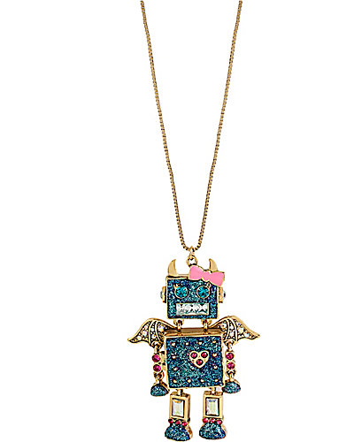 FAIRYLAND ROBOT PENDANT BLUE