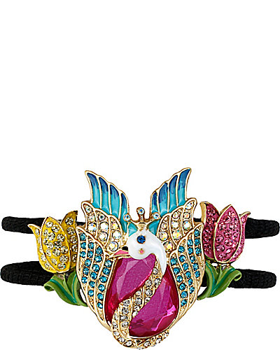 FAIRYLAND SWAN BANGLE BRACELET MULTI