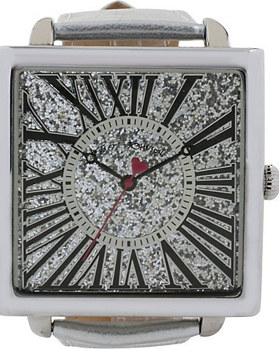 FASHION SHOW SQUARE SILVER WATCH SILVER