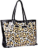 FEE FI FAUX FUN TOTE BLACK