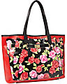FEE FI FAUX FUN TOTE RED