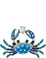 FEELING CRABBY CRAB RING BLUE