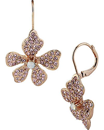 FLOWER BOOST DROP EARRING MULTI