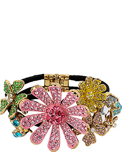FLOWER BOOST HINGE BRACELET MULTI