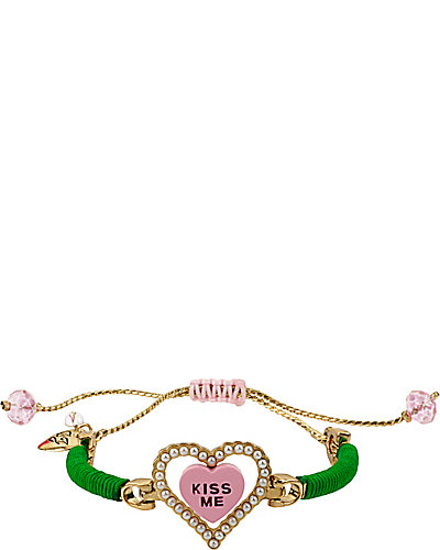 FRIENDSHIP KISS ME HEART BRACELET MULTI