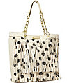 FRINGY FROU FROU TOTE CREAM